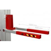 Prolongador de horquillas para Elevador Toro ACT-02